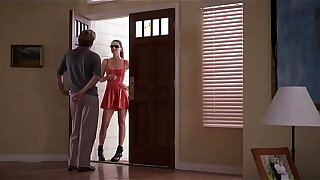 bitch in red-hot latex dress dither burnish apply man