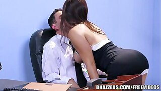Brazzers - Post stocking  threesome