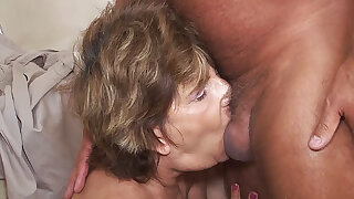 deepthroat with 79 year old mommy