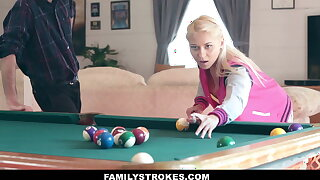 Teen Stepdaughter Marsha May Makes A Bet With Stepdaddy