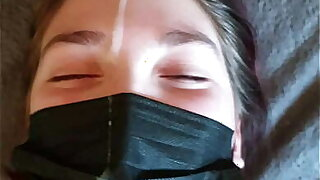 TABOO stepdaddy and daughter lockdown led to insane facial!