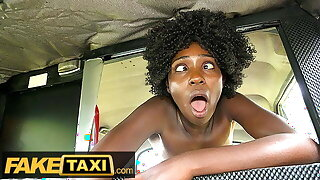 Fake Taxi – African Ebony Queen Rides a huge thick cock